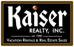 Kaiser Realty, Inc. located in Gulf Shores and Orange Beach, Alabama.